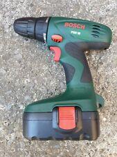 Bosch PSR 18 Cordless Drill Driver + 18v 1.2Ah nicd battery, metal wood work