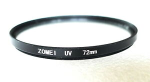 72mm Zome 1 UV  Filter - PERFECT
