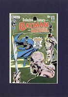 NEAL ADAMS BATMAN 1971 DETECTIVE COMICS #409 ORIGINAL COVER PROOF PRODUCTION ART