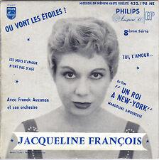 JACQUELINE FRANCOIS MANDOLINE AMOUREUSE FRENCH ORIG EP FRANCK AUSSMAN
