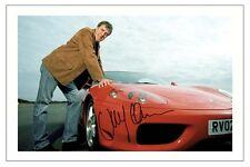TOP GEAR  JEREMY CLARKSON SIGNED PHOTO PRINT  AUTOGRAPH