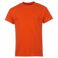 Hanes EUA Hombre Liso Algodón Fornido RESISTENTE Camiseta Camiseta S - 6xl