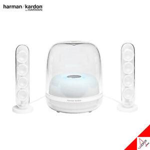 Harman Kardon SOUND STICKS4 Wireless Bluetooth Speaker 140W RMS Brandnew - White