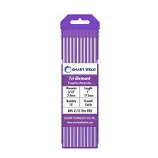 Purple TIG Welding Tungsten Electrode 3/32