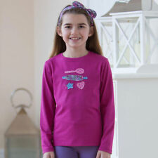 Organic Cotton Floral T-Shirts & Tops (2-16 Years) for Girls
