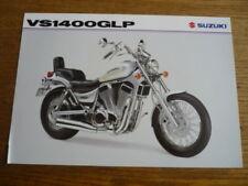 SUZUKI VS 1400 GLP MOTORBIKE BROCHURE,  1998. POST FREE (UK)