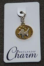 SILPADA Sterling Silver Charm Collection - Girl's Best Friend - C2542 - NIB!
