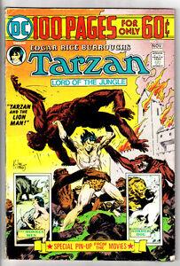 TARZAN #233 Joe Kubert Art! Edgar Rice Burroughs! 100 Page Giant! 1974 DC