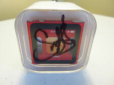 ***SUPER SPECIAL***  APPLE iPOD NANO RED 8 GB SIGNED BY SNOOPE DOG