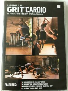 Les Mills Grit Cardio 03 - DVD, CD & choreo notes