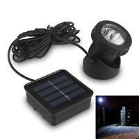 Solar Powered 6 LED Outdoor Garden Landscape Yard Spot Light Lawn Lamp Spo NMS