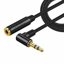 3.5mm Headphone Extension Cable, CableCreation 1.8M Right Angle 3.5mm Male to Fe