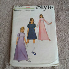 Style Child's Dress Sewing Patterns