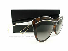 New Dior Sunglasses Dior Liner UGMHA Havana Rose Gold Authentic