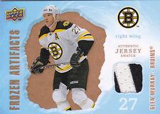 08-09 Frozen Artifacts Glen Murray Jersey Retail Bruins 2008
