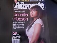 Jennifer Hudson - The Advocate  Magazine 2006