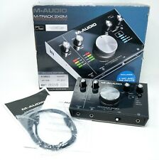 M-Audio M-Track 2x2M Series C 24bit/192kHz USB Audio MIDI Interface