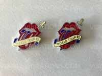Rolling Stones Pins 1982 World Tour Lot of 2