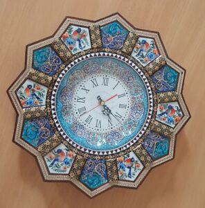 Khatam Wall Clock (Free Shipping)