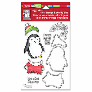 Stampendous Stamp & Cut-COOL PENGUINS
