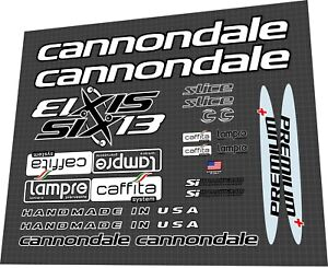 Cannondale Six13 Lampre-Caffita 2006 Decal Set