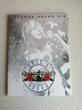 GUNS N ROSES - LEGEND NEVER DIE - DVD - NEW