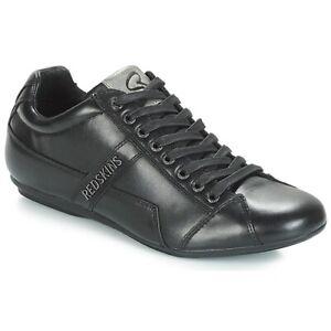 Chaussures en cuir Redskins homme Tonaki Noir