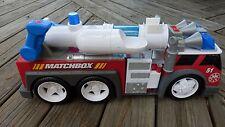 """22"""" Matchbox  Fire Engine Truck W/ Lights & Sound"""