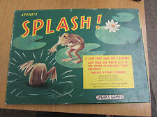 1977 SPEARS GAMES SPLASH A LEAP FROG GAME 100% COMPLETE