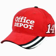 Nascar Tony Stewart #14 Office Depot Constructed Adjustable  Race Hat Cap