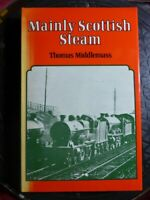 """SIGNED Thomas Middlemass """"Mainly Scottish Steam"""" 1973 HB Book Trains Locomotives"""