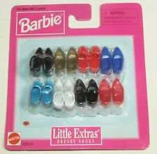 Barbie Little Extras Dressy Shoes Boots 8 Pairs 1997 Mattel 67036-84 New