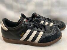 Adidas Samba Classic Indoor Soccer Shoes Gum Sole Size 6 Black 038516