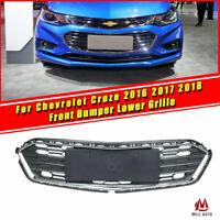 Front Bumper Lower Grille Grill Chrome For Chevrolet Cruze 2016 2017 2018 Sedan