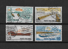 ITALIE - 1956 YT 720 à 723 - TIMBRES OBL. / USED
