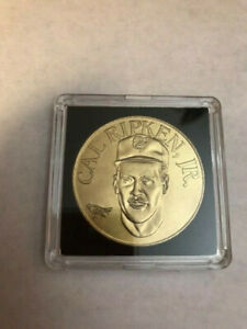 CAL RIPKEN JR MLB Sport Stars Bandai Brass Coins. 1990 in case!