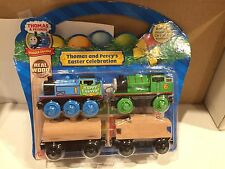 NIP - Wooden Thomas and Percy Easter Celebrations for Thomas Trains Wooden