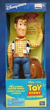 NEW DISNEY WOODY TOY STORY TALKING FIGURE (PULL STRING)
