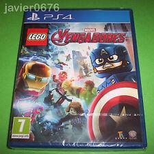 LEGO VENGADORES MARVEL NUEVO Y PRECINTADO PAL ESPAÑA PLAYSTATION 4 PS4