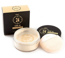 Mistine Translucent Loose Powder 24 Cover All Long-Wear Full Coverage Oil 22 g
