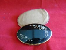 Vintage Melissa oval Powder Compact