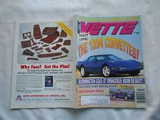 VETTE--OCTOBER,1993--MAGAZINE-FIRST LOOK! THE 1994 CORVETTES !