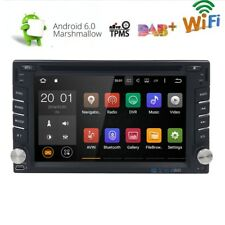 Android 6.0 Double 2 Din Car DVD Player Radio Stereo Head Unit GPS SAT NAV DAB+