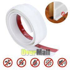 3-Layers Weather Stripping Door Seal Strip Self Adhesive Bottom Draft Stopper