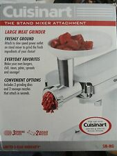 Cuisinart SM-MG Meat Grinder Attachment fits SM-55 or SM-70 Stand Mixer