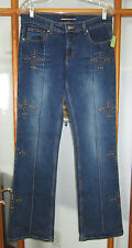 Bebe Jeans Women's 32 USA Made Studded