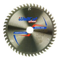 WellCut TCT Saw Blade Extreme 160mm x 48T x 20mm Bore For GKS 55GCE,TS55,TS55REB