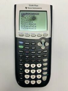 Texas Instruments TI-84 Plus Graphing Calculator College Special  - Back *Read*