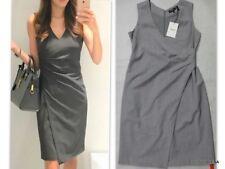 392fe196931 Theory ( ) Sz 8 Sleeveless Pleated Front Karianna Suit Dress Light Stone