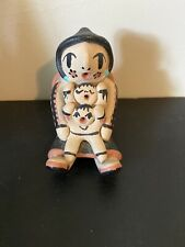 Vintage Native American Jemez Pueblo Pottery Storyteller Signed D. Tosa
